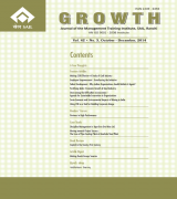 GROWTH - Journal of the Management Training Institute (Oct - December 2014)